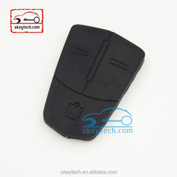 Wear-resistant remote 3 button rubber for opel