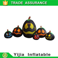 led light special color Inflatable 6 Pumpkins Halloween party decoration
