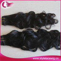 Natural Raw Brazilian Italian Wavy Hair extension