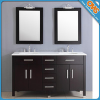 "72"" High End American Modern Style Double Bathroom Vanities"