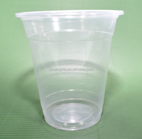 360cc-PP Recyclable Plastic Heat Resistance Transparent Cold Drinking Cups