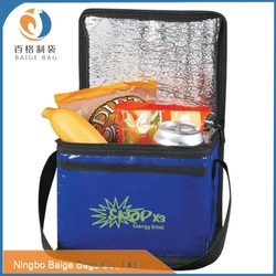 non woven cheap promotional woven protable cake plastic cooler bag