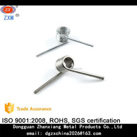 custom hair clip stainless steel torsion spring