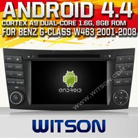 WITSON ANDROID 4.4 CAR VIDEO GPS FOR MERCEDES-BENS CLS W219 2004-2011 WITH 1.6GHZ FREQUENCY DVR SUPPORT WIFI APE