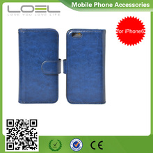 Cheapest Mobile Phone Case For iPhone 6, Leather Wallet Case For iPhone6