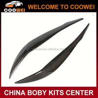 Carbon fiber eyebrows for BMW F30 cars carbon eyelid