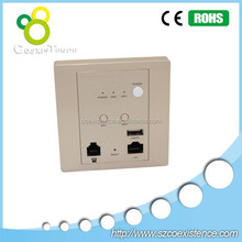 new jack design In Wall Access Point wall mount access point with poe power supply as 3g modem