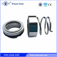 Metal shaft single spring water pump mechanical seal 120 type