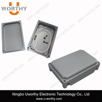 Die Cast Aluminum Waterproof Case Box with Silicone Sealing Strip