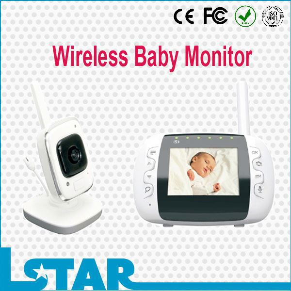 digital 2 4 inch battery baby monitor with rechargeable battery buy battery. Black Bedroom Furniture Sets. Home Design Ideas
