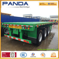 Widely Used Truck Trailer Long Vehicle Trailers For Container&Bulk Cargo Transport