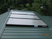 solar heating solar collector