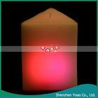 venda quente decorativas velas elétricas para presente de casamento da vela