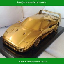 2015 new design bronze car sculpture for sale