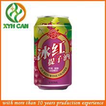Factory price metal tin can /fruit tin can for wine