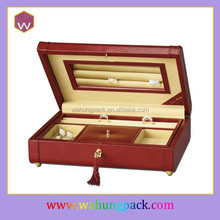 popular handmade faux leather jewellery package wholesale