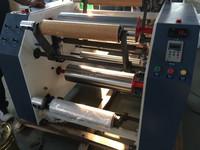 PVC Cling Film Rewinding Machine/Stretch Film Slitter Rewinder