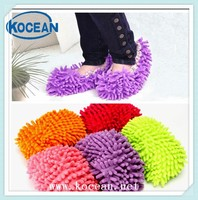 2015 multifunction chenille mop slipper household cleaning