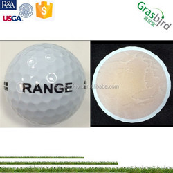 2pc cheap golf balls, rang practic golf balls, driving range golf ball