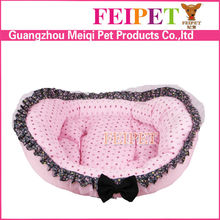 wholesale cozy dog sofa pet cat bed dot pattern dog cushion bed