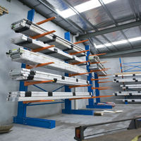 Jracking warehouse storage industrial heavy duty pipe cantilever rack