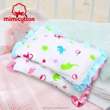 Nuevo estilo 100% algodón semilla de la casia y trigo sarraceno almohada del bebé