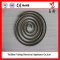 taizhou jiangsu yuling bajo precio de calefacción eléctrica elemento de piezas de la estufa