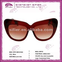 Custom Cheap Promotion Retro Cat Eye Sunglasses 2012
