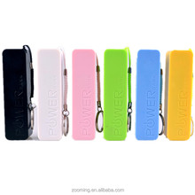 Wholesale Square Shape 2600mah Portable Charger power bank 2600 Factory direct supplier, Safety Certified CE FCC and RoHS