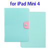 Wholesale China Factory Buckle Leather case for ipad mini 4 flip cover