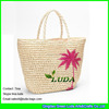 LUDA 2015 Summer Straw Bags Palm Leaf Paper Straw Crochet Bags