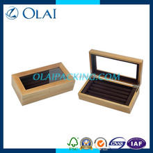 pvc lid collection box for cufflinks