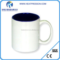 Promotional 11oz Sublimation Blanks Inner Color Mug