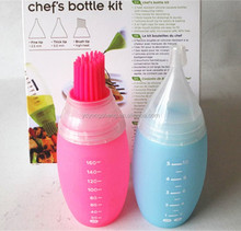 2pcs New product silicone oil bottle , kitchen bbq brush