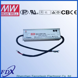 Meanwell led light driver dimmable HLG-120H-48B