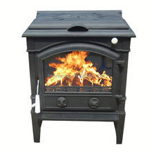 New Arrival Country Style 14kw cast iron stove wood burning stove with cooking top
