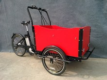 26 inch electric bike front cargo trike with CE approved