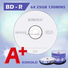 A+ Blank 25gb blu ray, blu ray box with spindle, wholesale taiwan