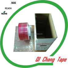 Bopp liner printed resealable bag adhesive tape for PE bags Shanghai famous manufacturer usually export to American