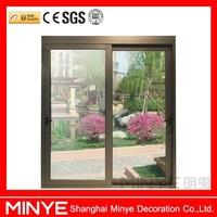 toughened glass aluminum frame slider lift doors/aluminum doors