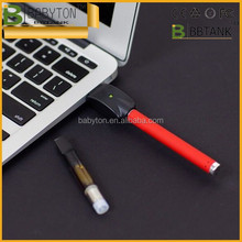 Extreme high quality quick shipment BBTANK bud touch oil vape pen slim battery