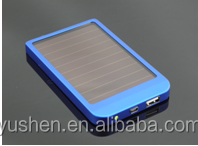 2015 hot selling 3500mah solar colourful mobile portable power bank