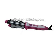 professional plastic rotating electric hair brush