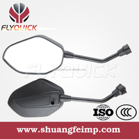 ZF001-125 FLYQUICK Good Quality aftermarket scooter rear view side back mirror for HONDA CBF150-SF,plastic mirror motorcycle