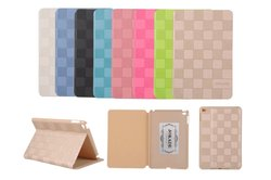 Original JOKADE Ultra thin Luxury Grid Leather Smart Pad Case Cover For iPad mini 4