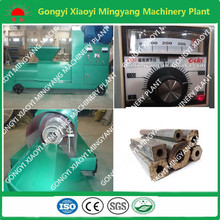 Smokeless and professional wood log briquette machine