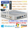 desktop pc in bulk WIFI Antenna I5 3317U Small Computer Intel HD4000 Graphics USB3.0 RJ45 Ports as Education Equipment