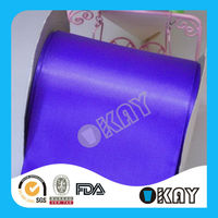 High Quality Polyester 4 inch Satin Ribbon
