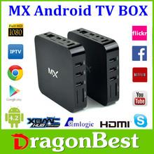 Dragonbest Android 4.2 Amlogic 8726 M6 Smart TV Box Android 4.1 MX Dual Core Box 1GB 8GB