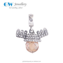 Joyas De Plata 925 Charms Bracelet Wholesale Metal Charms S090C